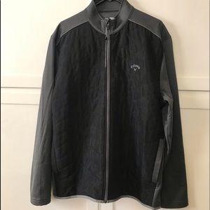 NWOT Calloway Full Zip Opti-shield grey jacket XL